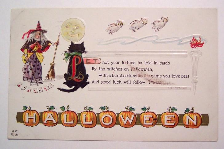 Ilustracion Halloween retro 078