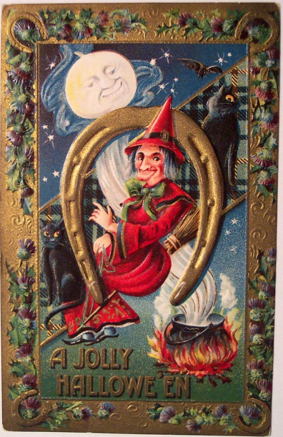 Ilustracion Halloween retro 079