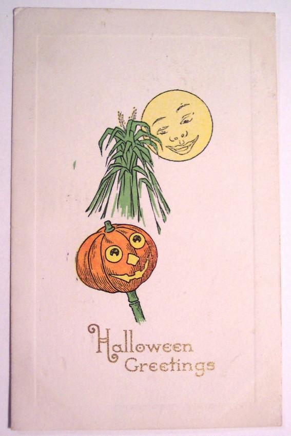 Ilustracion Halloween retro 080