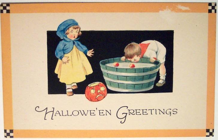 Ilustracion Halloween retro 081