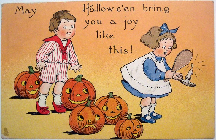 Ilustracion Halloween retro 084