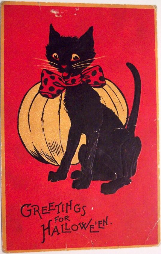 Ilustracion Halloween retro 086