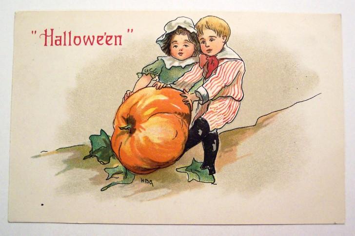 Ilustracion Halloween retro 088