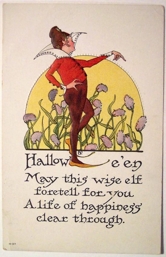 Ilustracion Halloween retro 089
