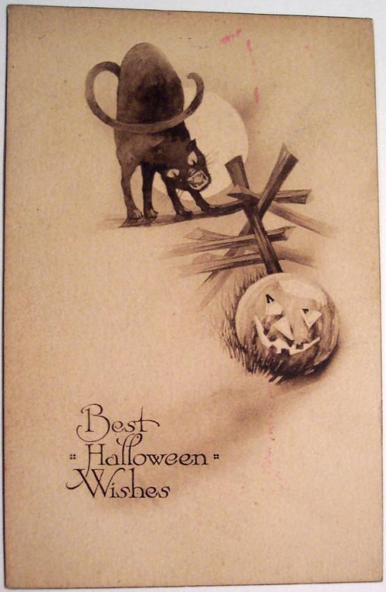 Ilustracion Halloween retro 091