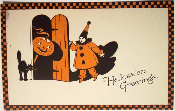 Ilustracion Halloween retro 092