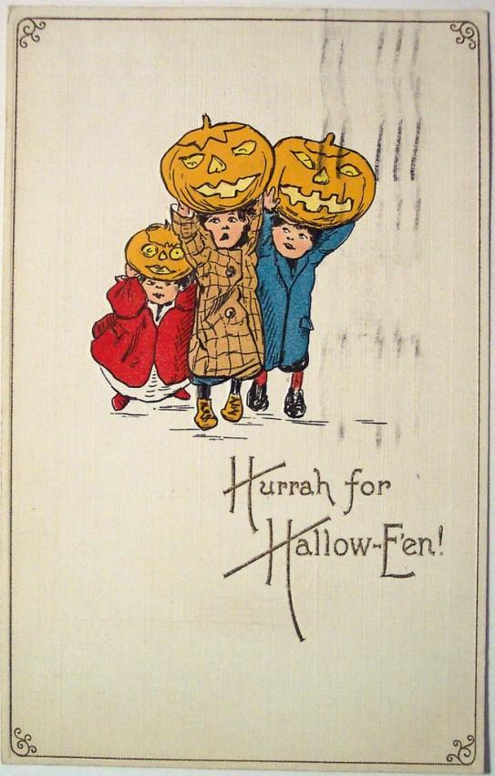 Ilustracion Halloween retro 097