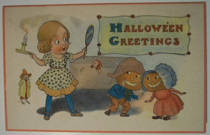 Ilustracion Halloween retro 098