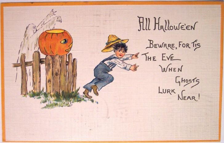 Ilustracion Halloween retro 100