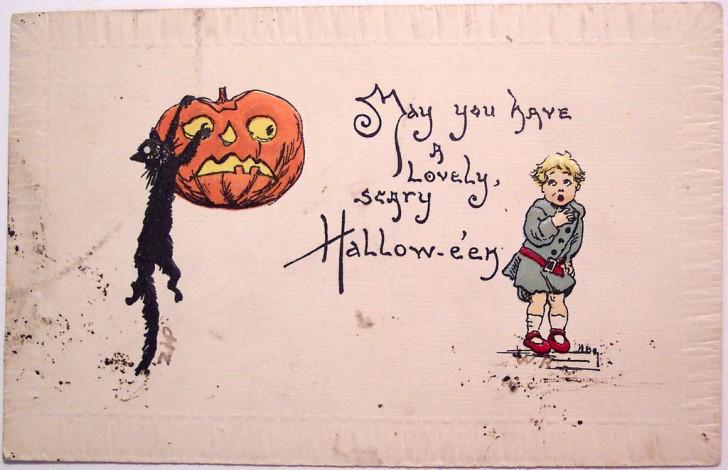 Ilustracion Halloween retro 101