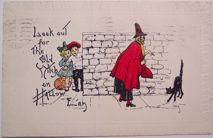 Ilustracion Halloween retro 102
