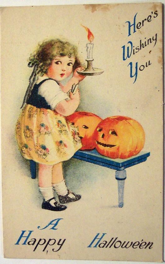 Ilustracion Halloween retro 104