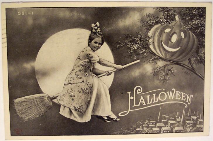 Ilustracion Halloween retro 105