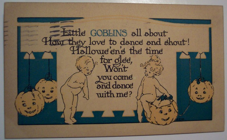 Ilustracion Halloween retro 107