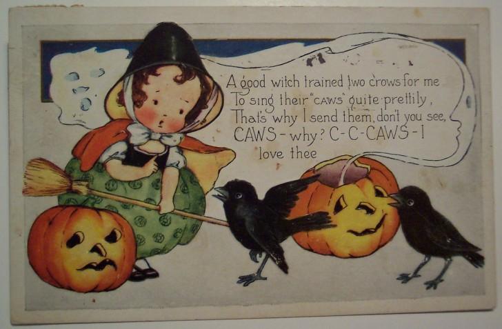 Ilustracion Halloween retro 108