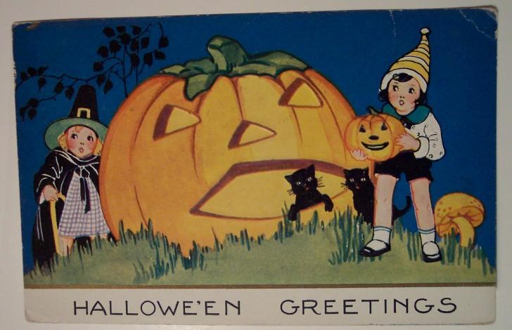 Ilustracion Halloween retro 109
