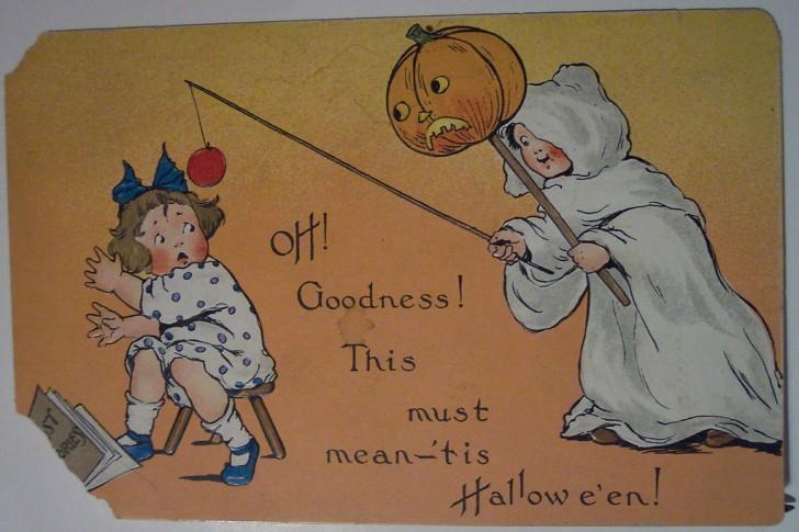 Ilustracion Halloween retro 111