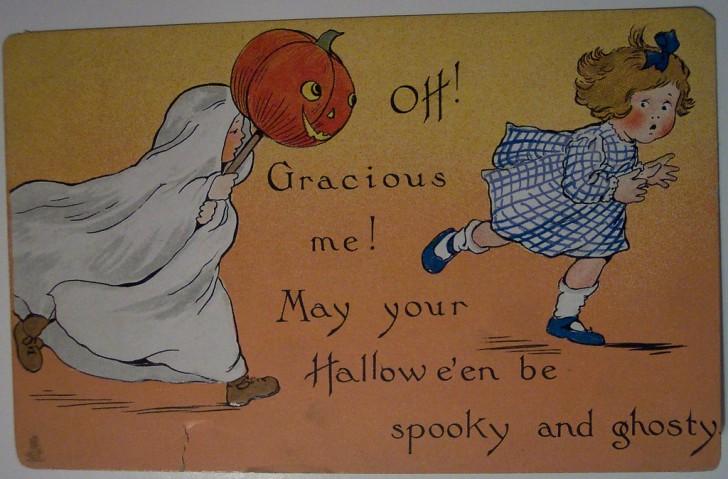 Ilustracion Halloween retro 112