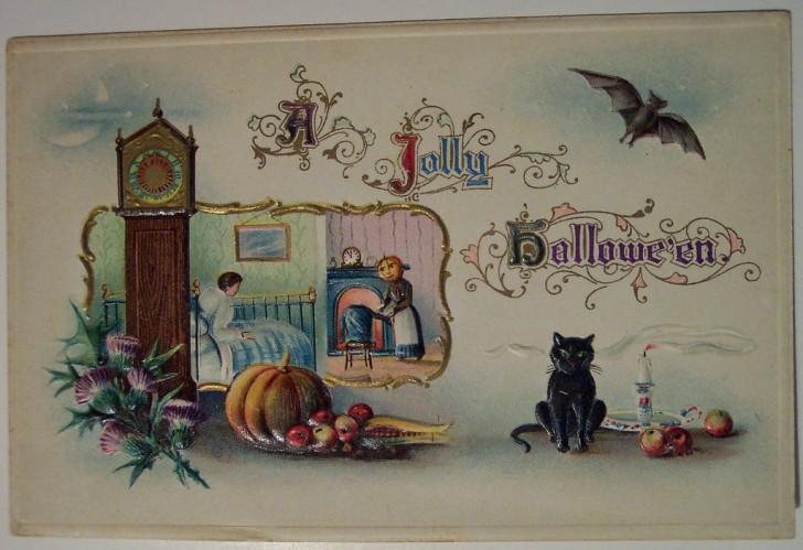 Ilustracion Halloween retro 113
