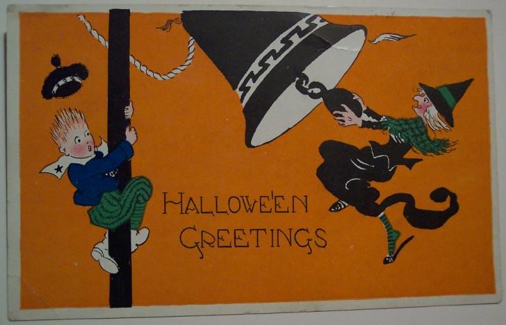 Ilustracion Halloween retro 117