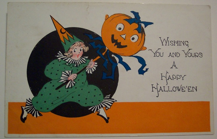 Ilustracion Halloween retro 118