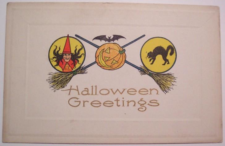 Ilustracion Halloween retro 119