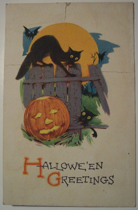 Ilustracion Halloween retro 121