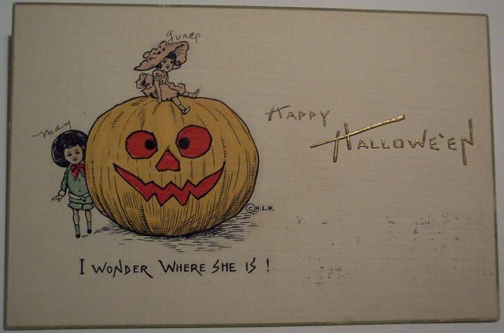 Ilustracion Halloween retro 124