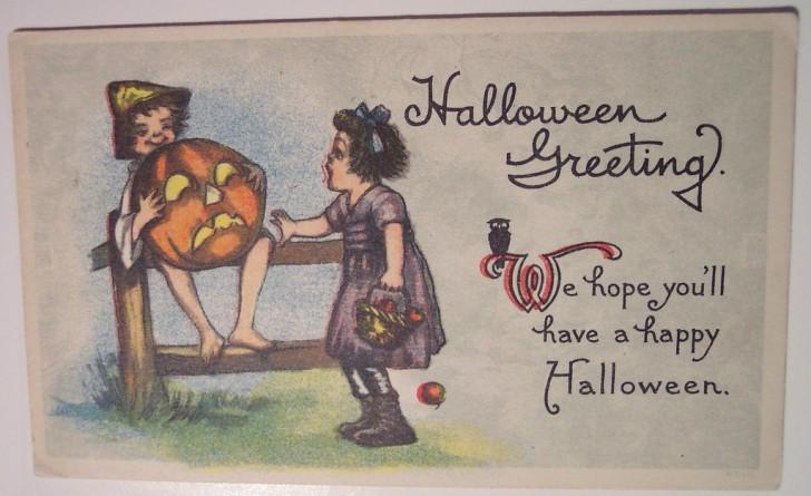 Ilustracion Halloween retro 126