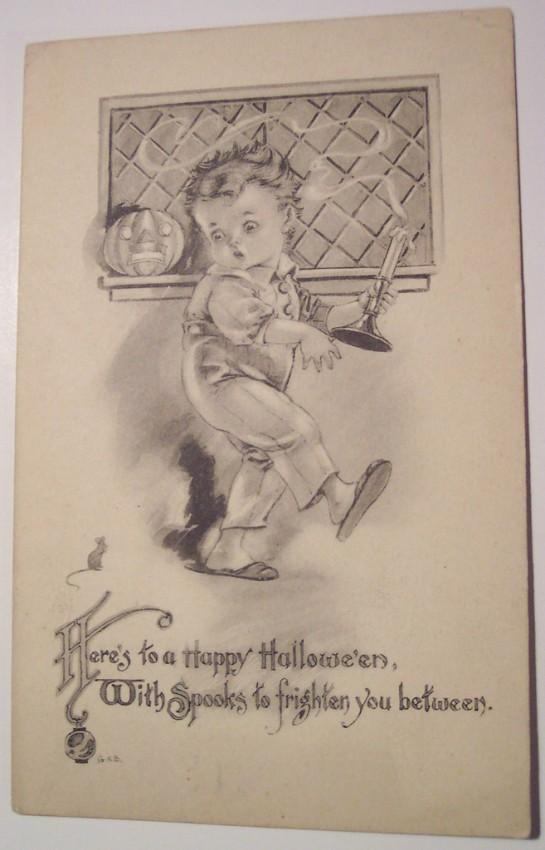 Ilustracion Halloween retro 128