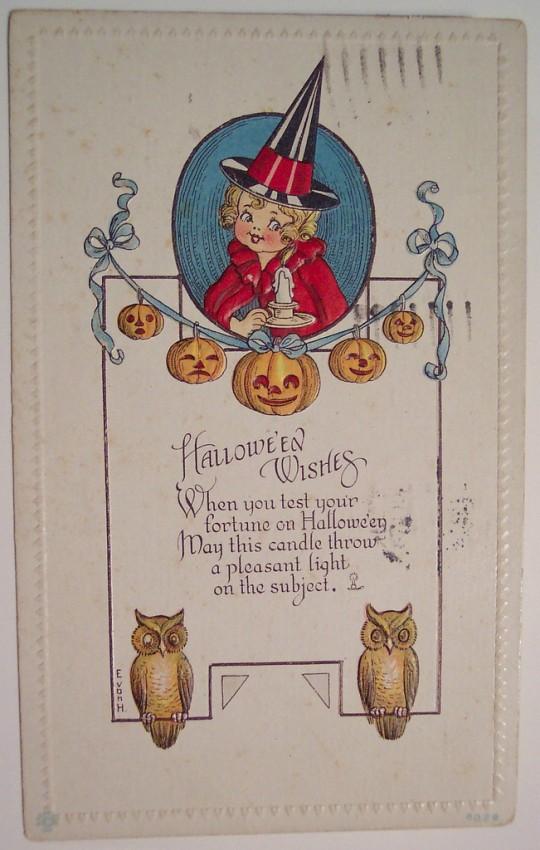 Ilustracion Halloween retro 129