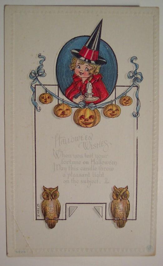 Ilustracion Halloween retro 130