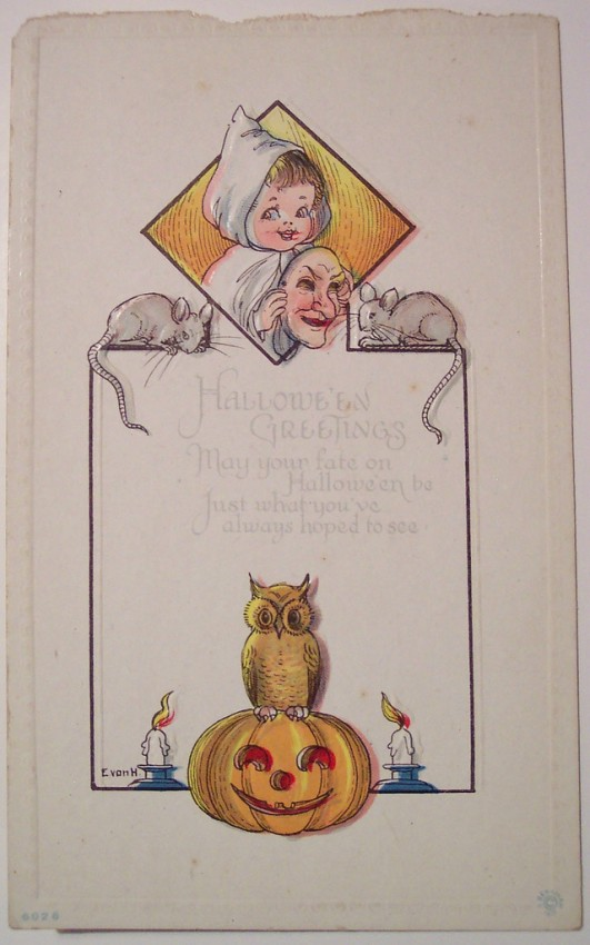 Ilustracion Halloween retro 131