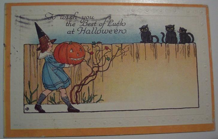Ilustracion Halloween retro 133