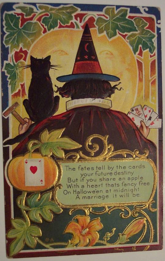Ilustracion Halloween retro 137