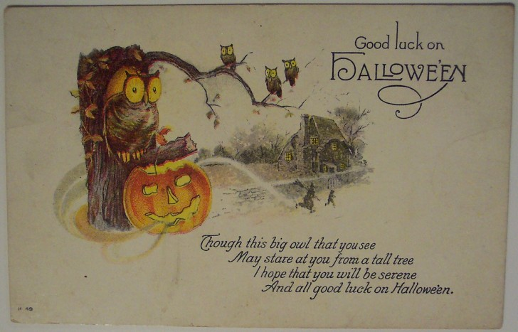 Ilustracion Halloween retro 138
