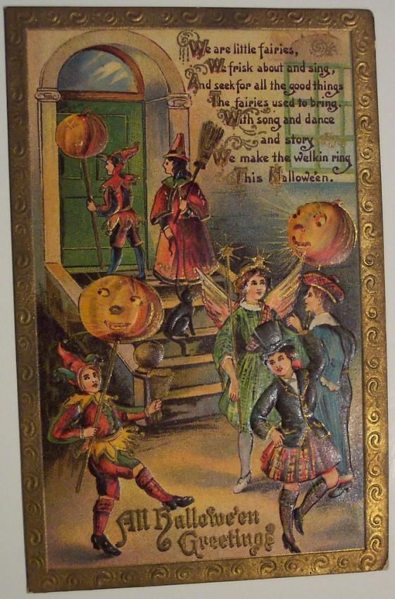 Ilustracion Halloween retro 140