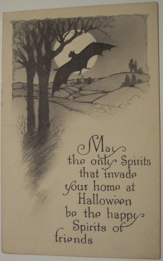 Ilustracion Halloween retro 141