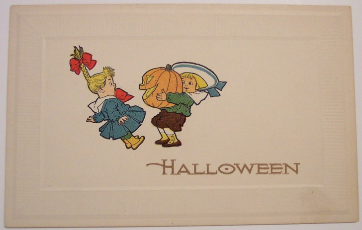 Ilustracion Halloween retro 142