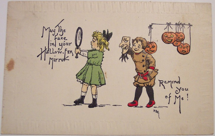 Ilustracion Halloween retro 144