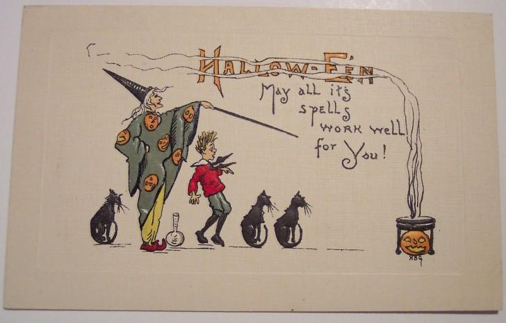 Ilustracion Halloween retro 145