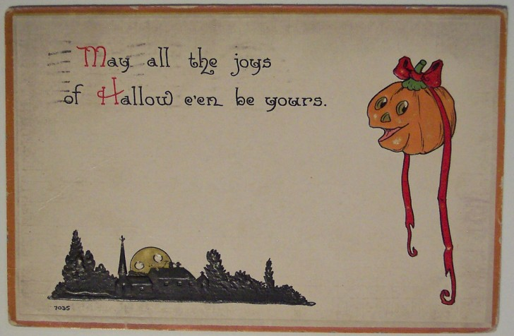 Ilustracion Halloween retro 146