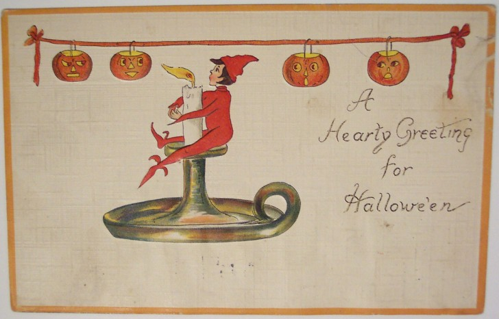 Ilustracion Halloween retro 147
