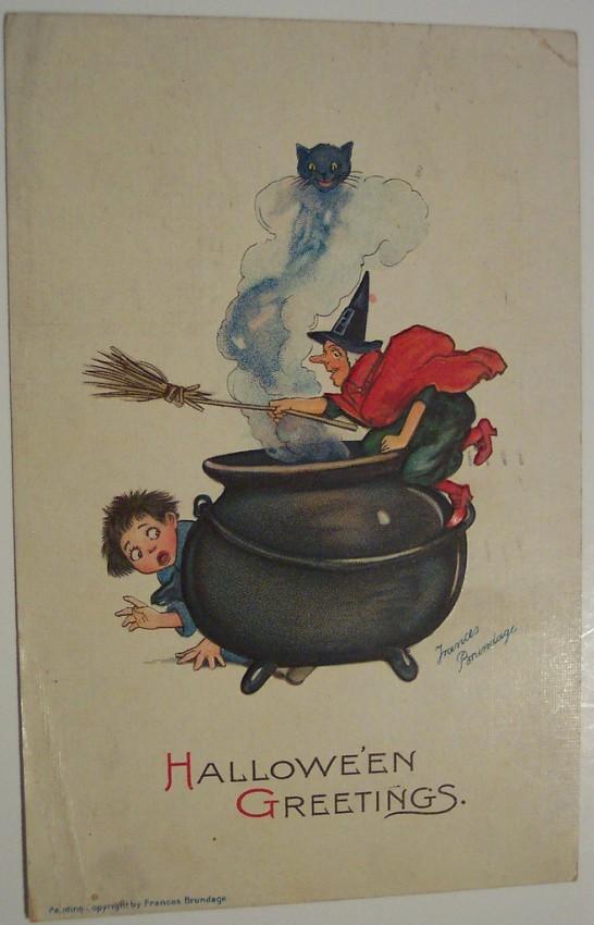 Ilustracion Halloween retro 148