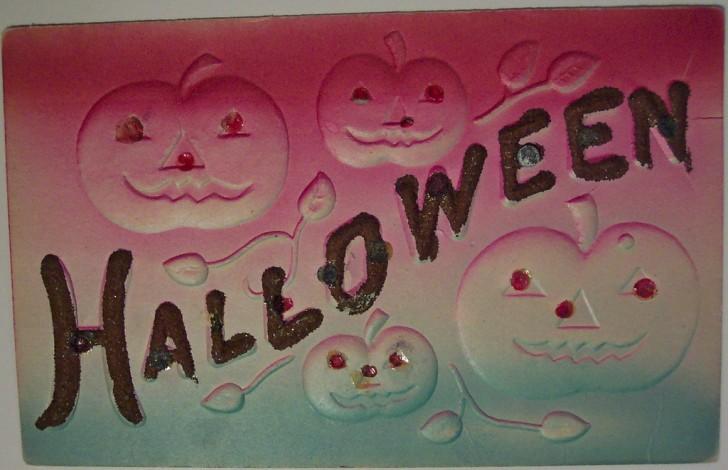 Ilustracion Halloween retro 151