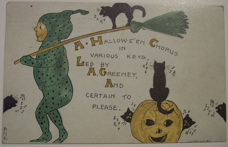 Ilustracion Halloween retro 152
