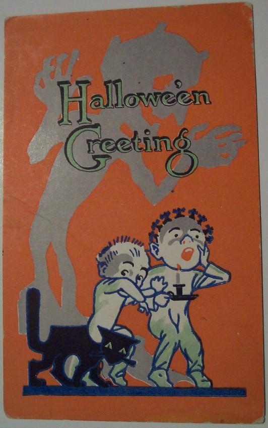 Ilustracion Halloween retro 155