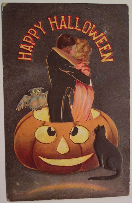 Ilustracion Halloween retro 156