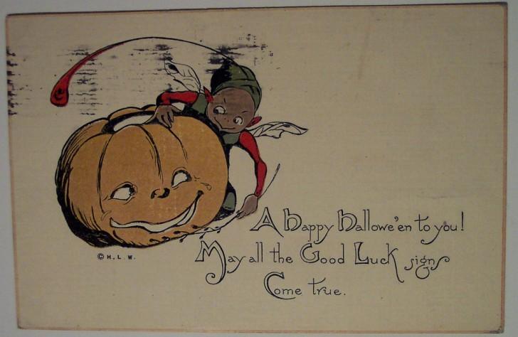 Ilustracion Halloween retro 157