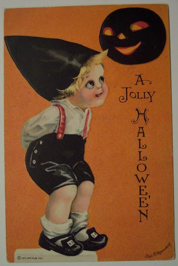 Ilustracion Halloween retro 159